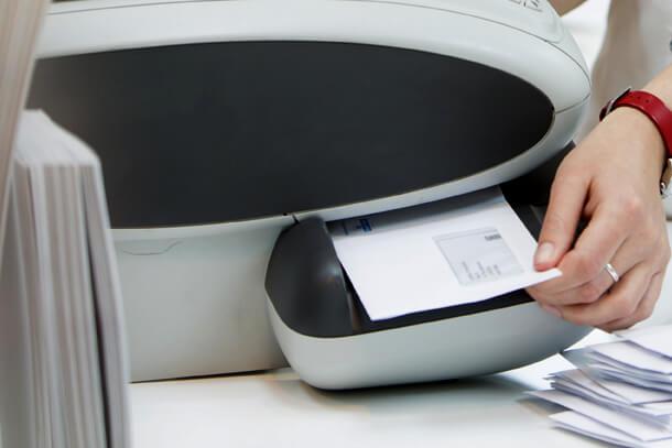 Franking Machine Printing