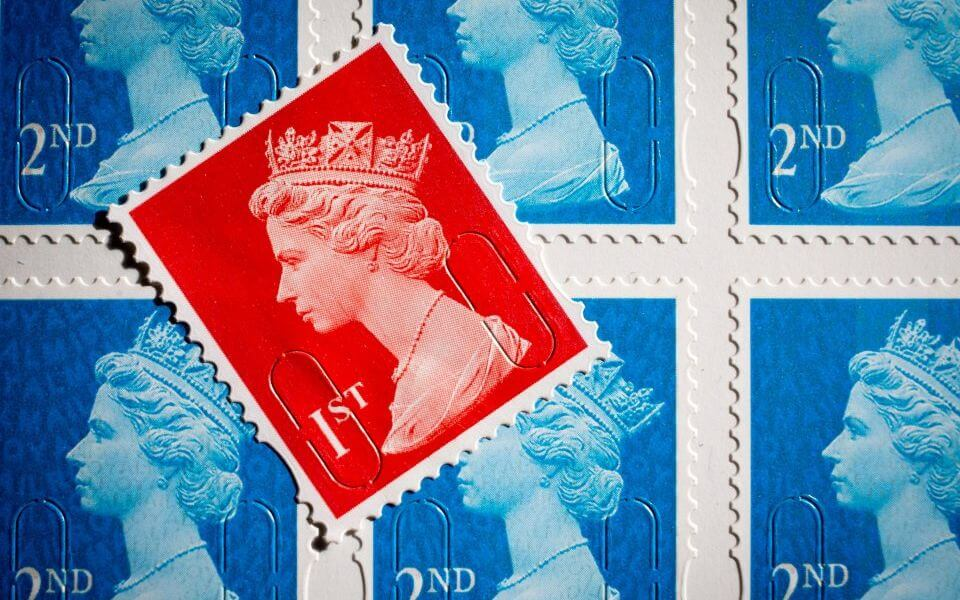 Franked Mail Stamp Cost