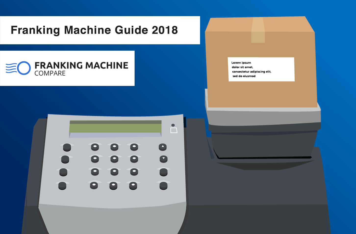 franking machine guide 2018